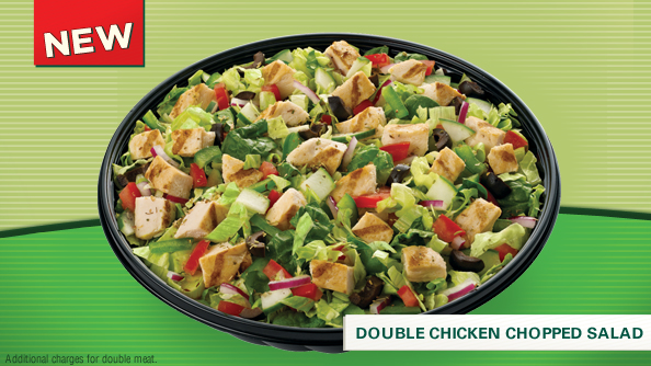 Low Carb Subway Salads