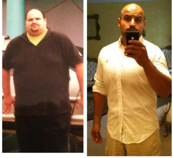 John S Before And After Weight Loss Has Been Eating Low Carb