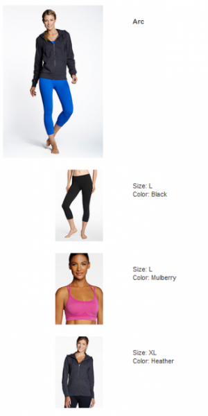 Fabletics (First Order)