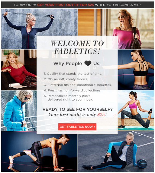 fabletics special offer