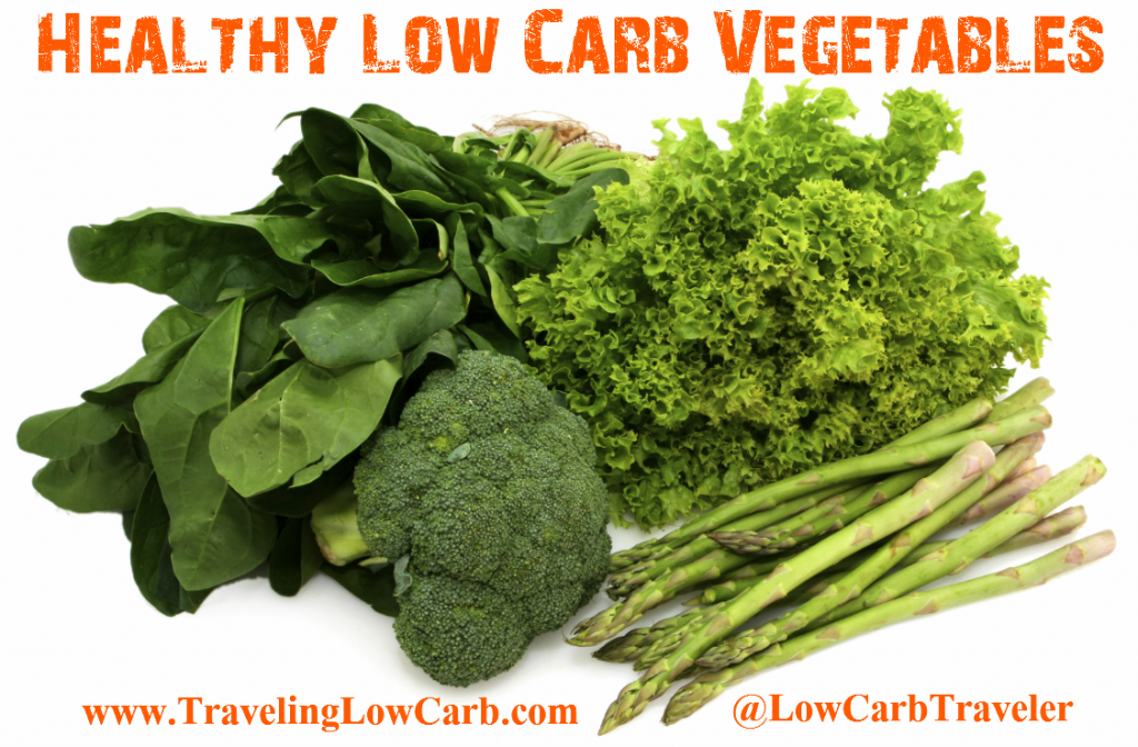 Scavenger Hunt List >> Quick List of Low Carb Vegetables | Traveling Low Carb