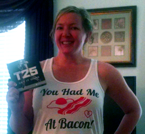 The T25 workout is awesome!!