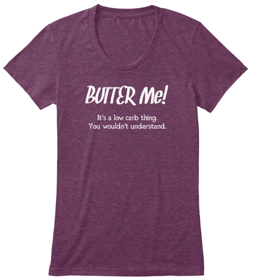 Low Carb T-Shirt - Butter