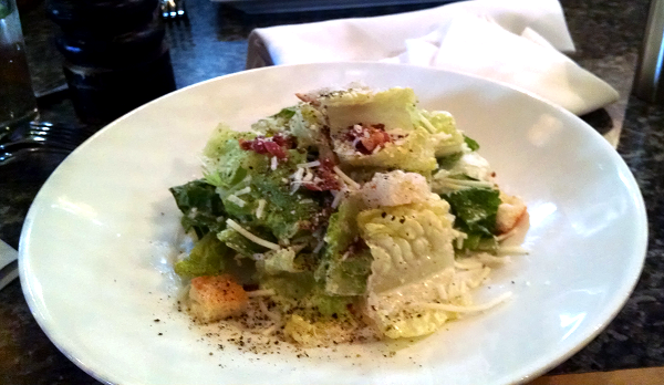 Caesar Salad at Milestones