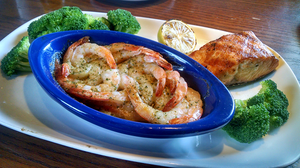 Low Carb Dinner at Red Lobster