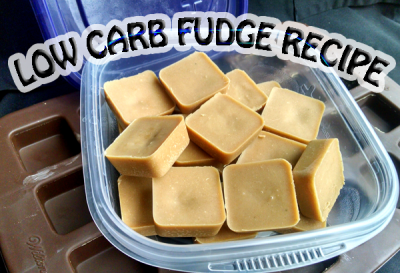 Easy Low Carb Peanut Butter Fudge Recipe