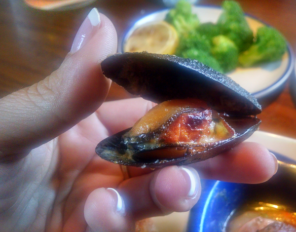 Red Lobster Mussels