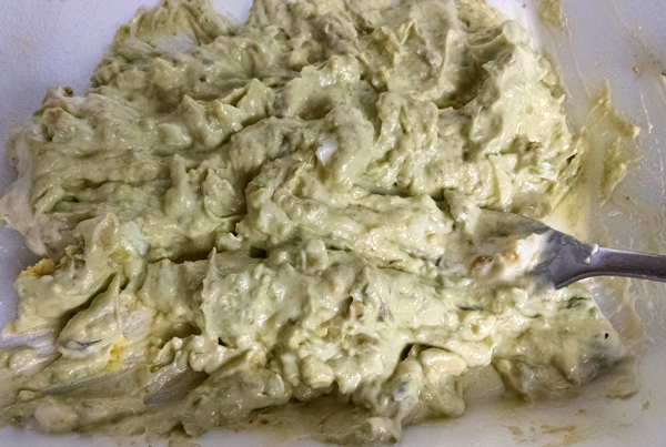 Avocado Mayo Mixture