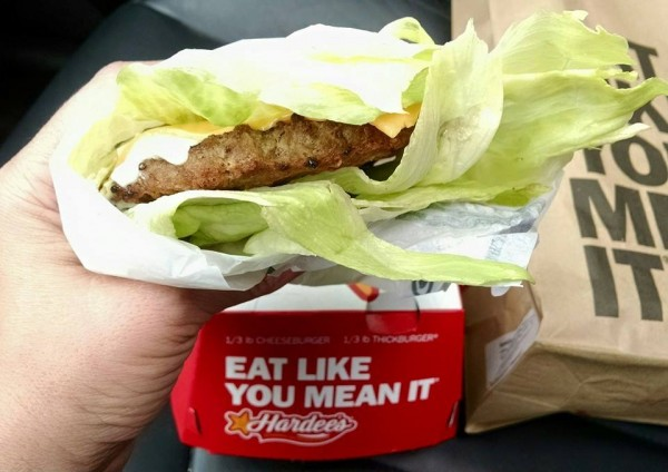 Hardee's Low Carb Thickburger