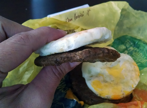 McDonald's Low Carb Breakfast