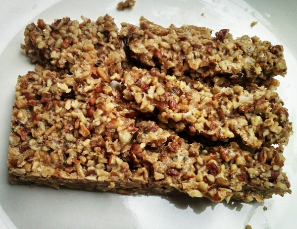 Homemade Low Carb Bar