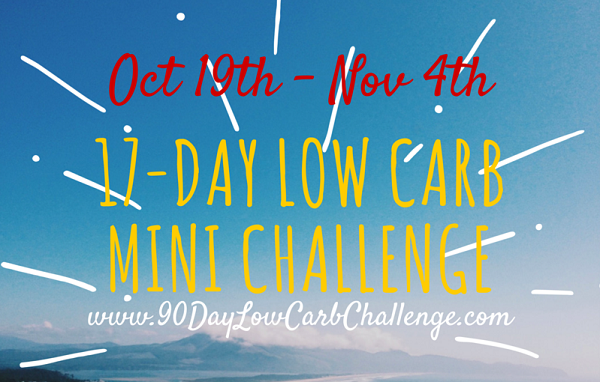 17 Day Low Carb Challenge