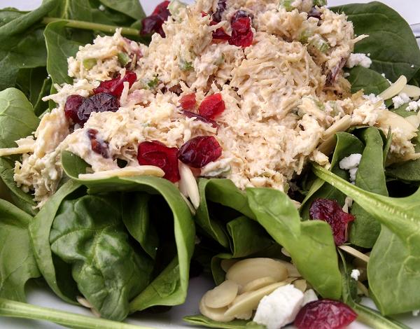 JoZoara Spinach Salad