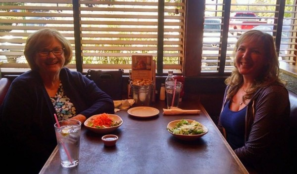 Lunch with Sue Painter
