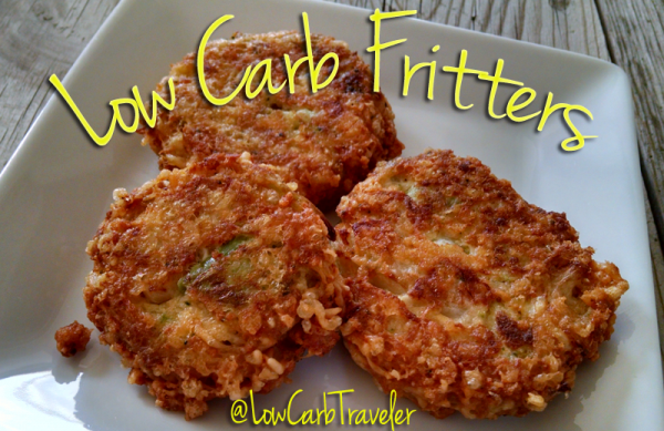 Low Carb Fritters