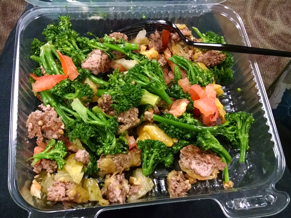 Low Carb Airport Meal