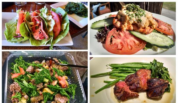 My Low Carb Restaurant Meals In San Diego