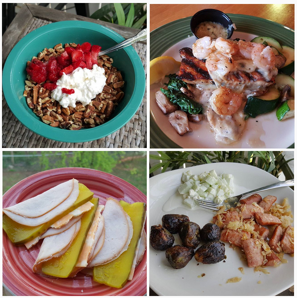 Down 4 Pounds In 4 Days: My Low Carb Meals