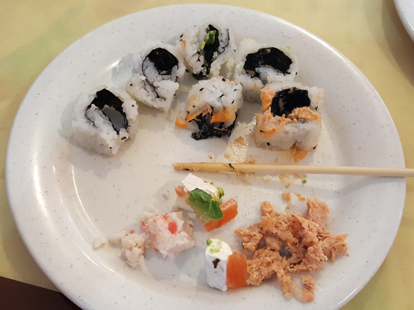 How To Eat Sushi on a Low Carb Diet (lol)