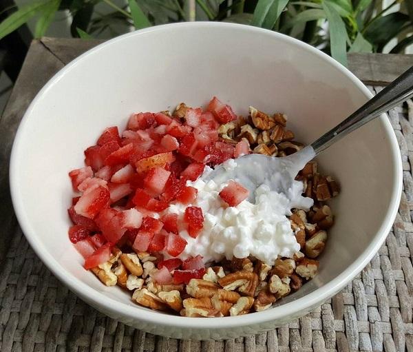 Healthy LCHF Breakfast