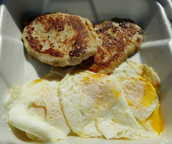 Low Carb Breakfast from a Restaurant