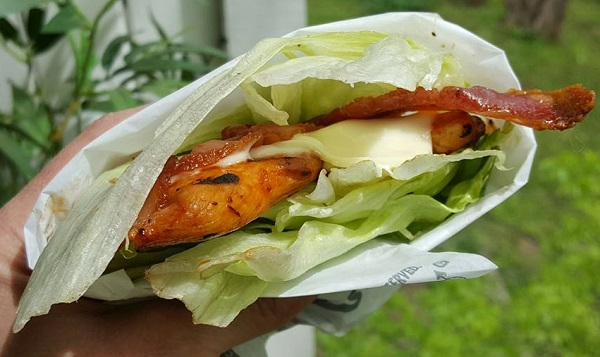 Low Carb Fast Food : Grilled Chicken Club from Hardee's