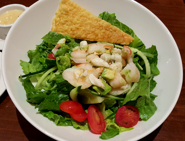 Low Carb Seafood Salad