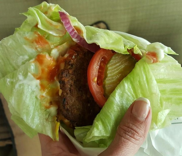 Low Carb Thickburger from Hardee's