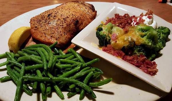 O'Charley's Low Carb Dinner