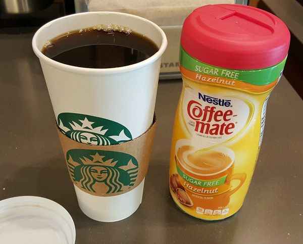 Sugar Free Coffee Creamer