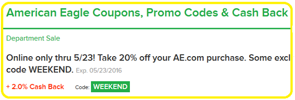 Ebates Coupon Codes
