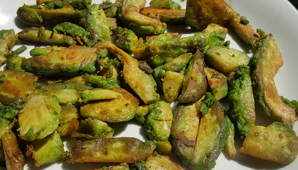 Fried Avocado - Easy Low Carb Side Dish