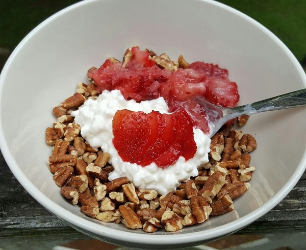 Healthy LCHF Breakfast