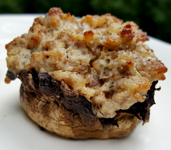 Low Carb Stuffed Mushrooms Recipe