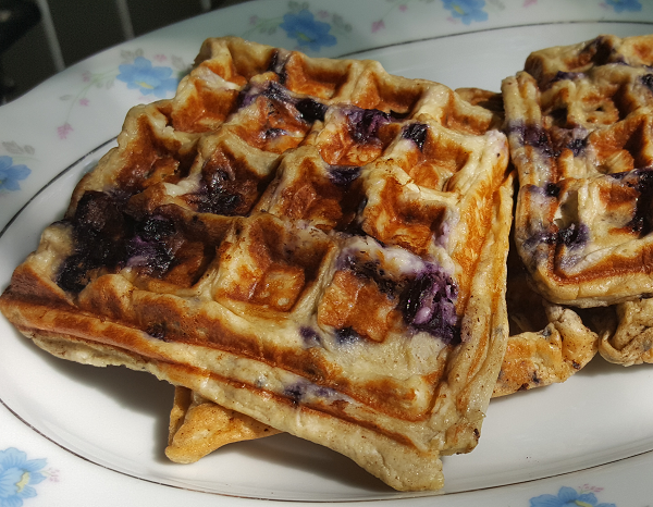 Low Carb Blueberry Waffle Recipe