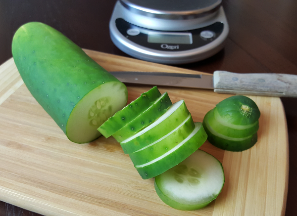 Cucumber Slices Are Great For Low Carb Dips & Spreads