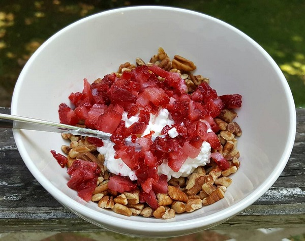 Healthy LCHF Breakfast Cereal