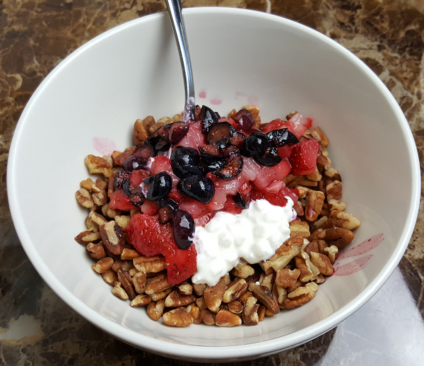 Healthy LCHF Breakfast - Low Carb, Gluten Free