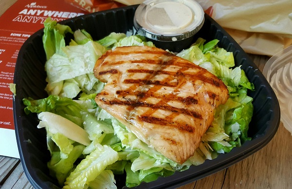 Delicious Low Carb Meal from Applebee's Carside-To-Go