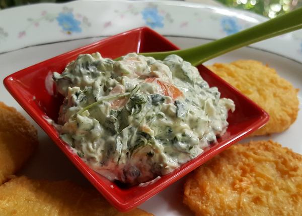 Low Carb Spinach Dip Recipe