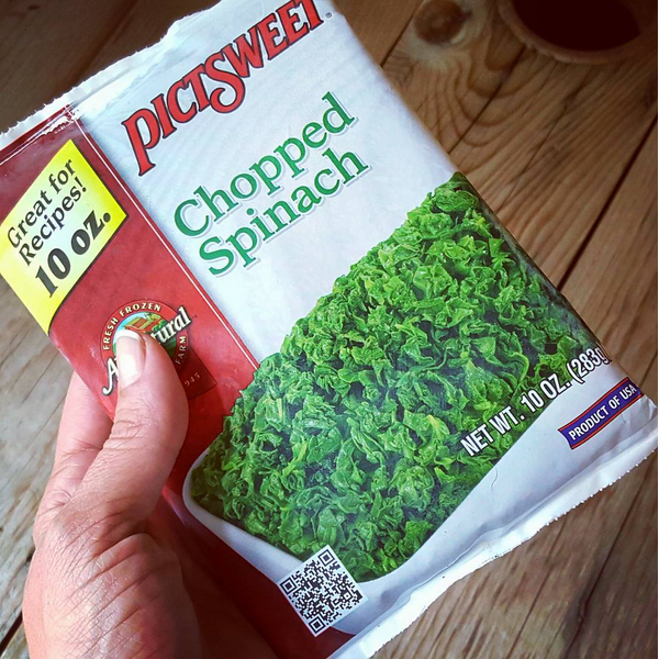 Pictsweet Chopped Spinach (Low Carb Vegetables)