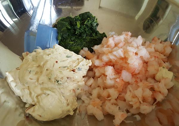 Low Carb Spinach Dip Ingredients