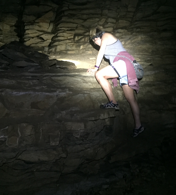Rock Climbing and Caving at Lost Creek Tennessee State Natural Area