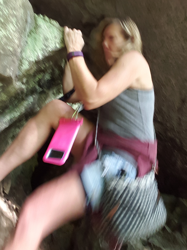 Rock Climbing Is Great Exercise!