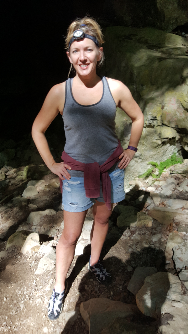 Geared Up For A Caving Adventure
