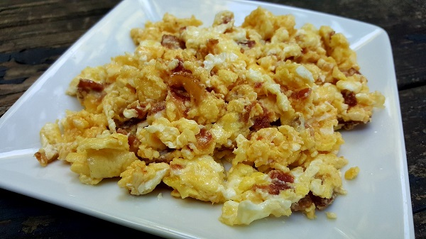 Zero Carb Meal - Bacon, Egg & Cheese Scramble