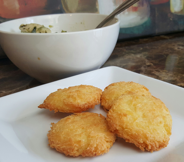 Easy Low Carb Bread Bites