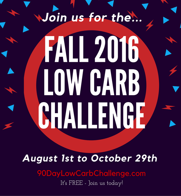 Fall 2016 Low Carb Challenge