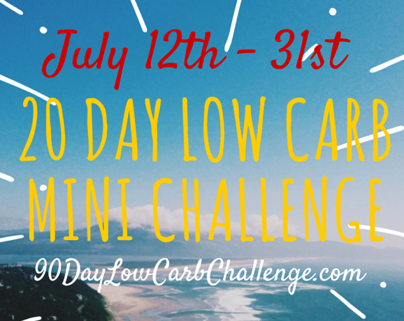 Low Carb Challenge : July 2016