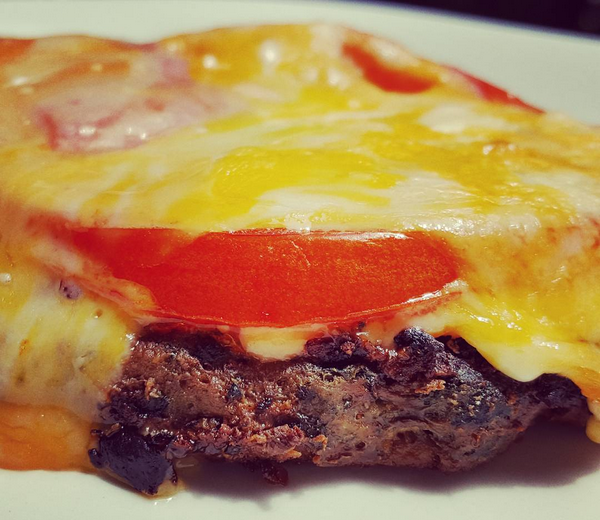 Low Carb Bunless Burger